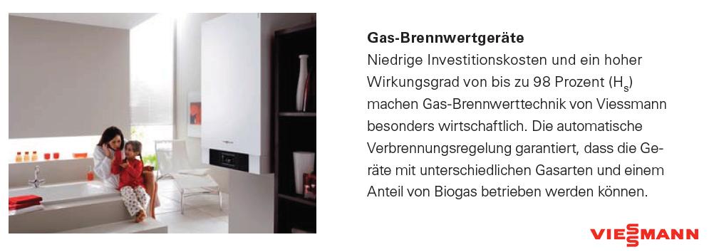 Gas-Brennwertgeräte